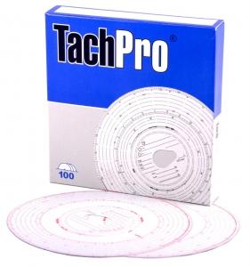 tachpro 125km discs, analogue tachograph charts, 125km tachograph charts