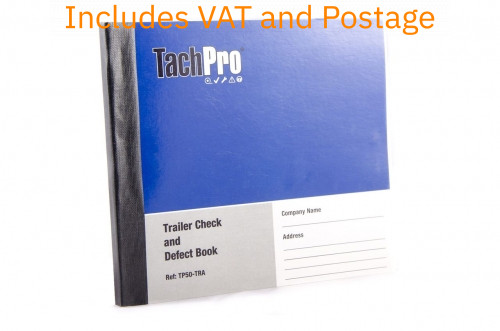 50 Page Semi Trailer Daily Walk Round Check Book