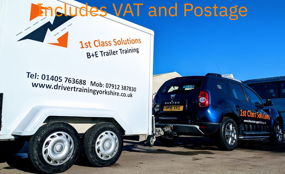 B+E Trailer Test Course Goole Doncaster Leeds Hull Selby