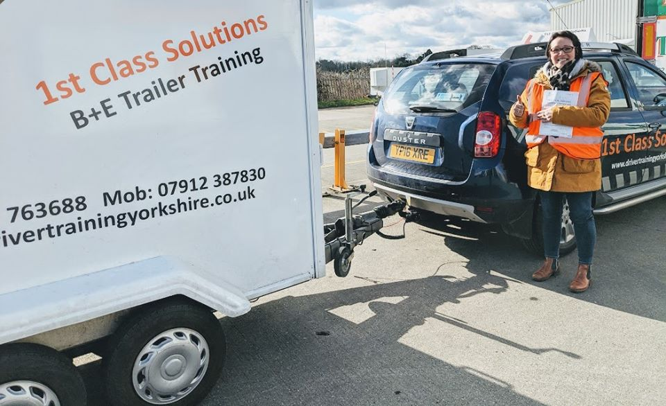 trailer test pass towing test caravan test horsebox test