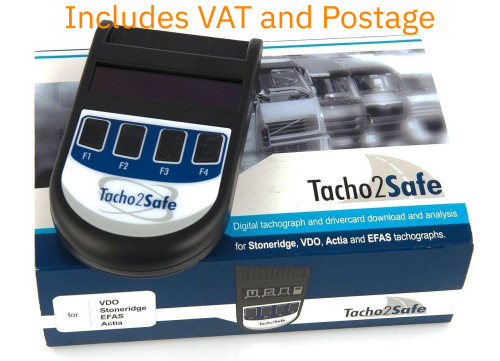 Tacho2Safe Digital Tachograph Unit and Driver Card Download system all in one